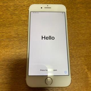 エーユー(au)のiPhone7 128GB ゴールド(スマートフォン本体)
