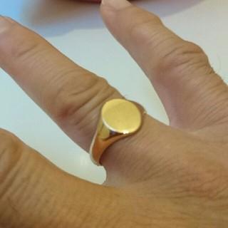 シグネット メンズリング (リング(指輪))
