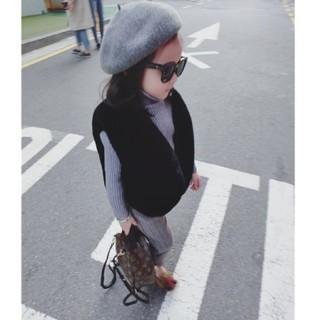 ザラキッズ(ZARA KIDS)のボアベスト♡女の子♡130cmのキッズまで(ジャケット/上着)