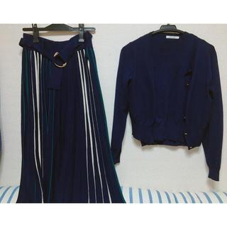 レディアゼル(REDYAZEL)のモモ様専用   ニットセットアップスカート(セット/コーデ)
