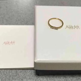 アーカー(AHKAH)のAHKAH タイリング 3号(リング(指輪))