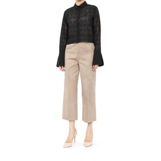 ルシェルブルー(LE CIEL BLEU)の美品♡ルシェルブルー♡Fake Suede Straight Pants(カジュアルパンツ)
