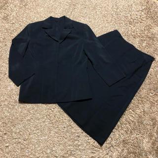 アナイ(ANAYI)の値下げ交渉OK アナイ スカートスーツ Mサイズ ブラック 薄手(スーツ)