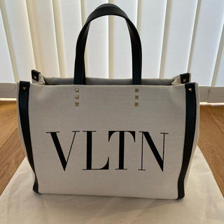 valentino garavani - VALENTINO ヴァレンティノ ロゴ キャンバス トートバッグ