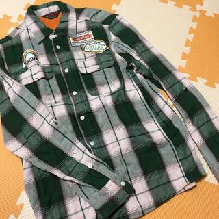 メンズトップス9 チェックシャツ(シャツ)
