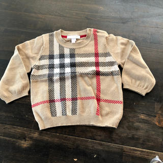 バーバリー(BURBERRY)のバーバリー  セーター  サイズ80(ニット/セーター)