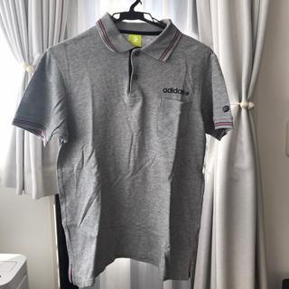 アディダス(adidas)のadidas メンズ ポロシャツ Lサイズ(ポロシャツ)