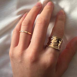 ゴールドリング 2セット(リング(指輪))