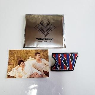 トウホウシンキ(東方神起)の東方神起ツアーXVグッズワッペンブローチ(K-POP/アジア)