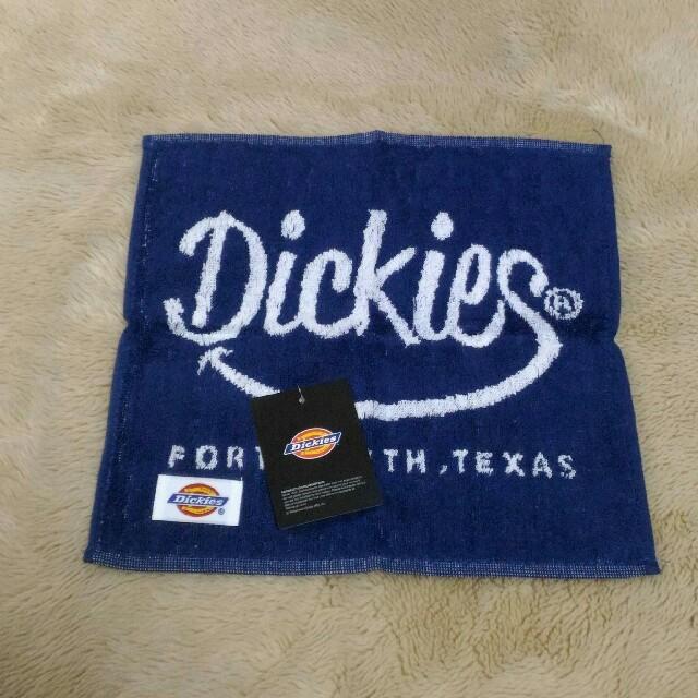 Dickies(ディッキーズ)の【新品】Dickies◆タオルハンカチ/ミニタオル 2枚セット メンズのファッション小物(ハンカチ/ポケットチーフ)の商品写真