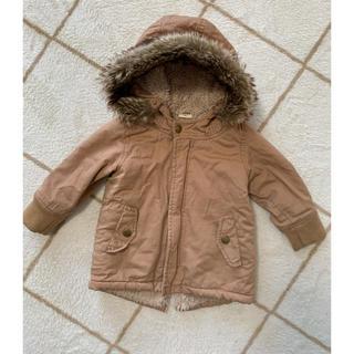 アカチャンホンポ(アカチャンホンポ)のモッズコート ベージュ80cm (ジャケット/コート)