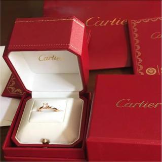 カルティエ(Cartier)のカルティエ ソリテールリング(リング(指輪))