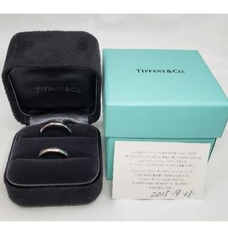 Tiffany & Co. - ティファニー PT950 プラチナ ペアリング 16号 11号