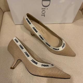 ディオール(Dior)のDior ストラップパンプス 22.5-24.5cm(ハイヒール/パンプス)