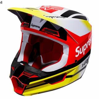 シュプリーム(Supreme)のSupreme Honda Fox Racing V1 ヘルメット希少L(ヘルメット/シールド)