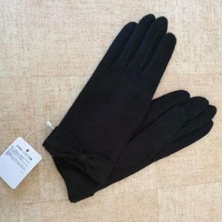 【新品未使用】手袋(黒色)(手袋)