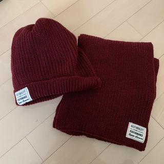 レピピアルマリオ(repipi armario)のレピピマフラー&ニット帽セット(マフラー/ショール)