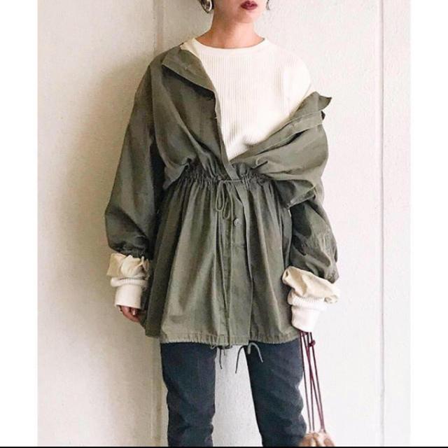 TODAYFUL(トゥデイフル)のトゥデイフル  ガスコート TODAYFUL  アウター レディースのジャケット/アウター(ミリタリージャケット)の商品写真