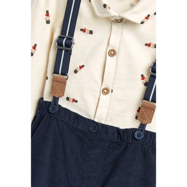 NEXT(ネクスト)の新品!ネクスト 3点セット 男の子 くま キッズ/ベビー/マタニティのベビー服(~85cm)(パンツ)の商品写真