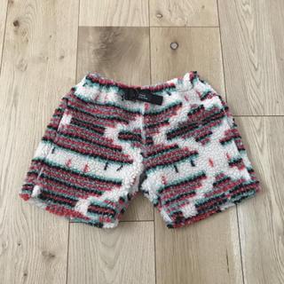 フィス(FITH)のデニム&ダンガリー ボア モコモコ 起毛 パンツ ショートパンツ100(パンツ/スパッツ)