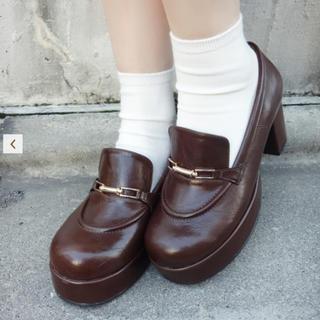 フィント(F i.n.t)の値下げ!Fi.n.t♡ビット使いレトロローファー(ローファー/革靴)