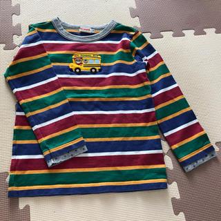 ミキハウス(mikihouse)のねここ様専用 ミキハウス 110 プッチーボーダーロンT(Tシャツ/カットソー)