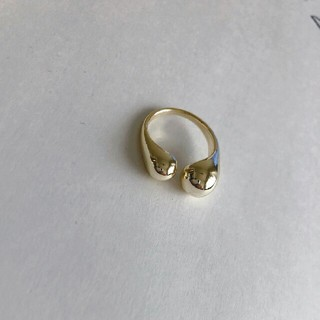 トゥデイフル(TODAYFUL)のインポート gold ring #118(リング(指輪))