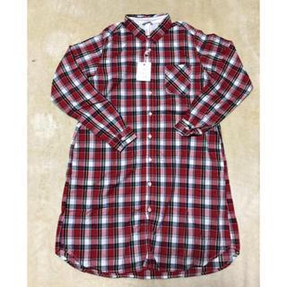 ドミンゴ(D.M.G.)の〜値下げ再出品〜 D.M.G. 赤色チェックシャツ(シャツ/ブラウス(長袖/七分))