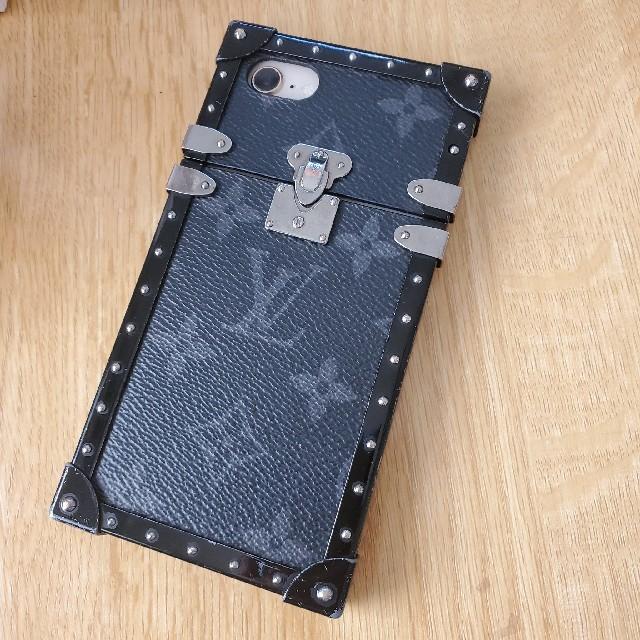 LOUIS VUITTON - ヴィトンのアイトランクiPhone7、8用の通販 by ぱるてぃーた's shop|ルイヴィトンならラクマ