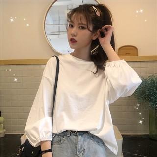 スタイルナンダ(STYLENANDA)の4カラー ロングTシャツ 女子学生 韓国ファッション(Tシャツ(長袖/七分))