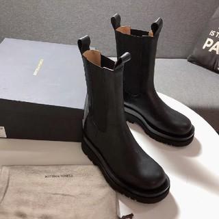 ボッテガヴェネタ(Bottega Veneta)のBottega Veneta ブラック ブーツ サイズ38(ブーツ)