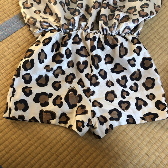 Nina mew(ニーナミュウ)のニーナミュウ ヒョウ柄スカート レディースのスカート(ミニスカート)の商品写真
