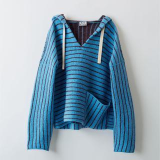 アクネ(ACNE)のAcne Studios 18aw hooded sweater Sサイズ(ニット/セーター)