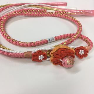 帯締め ピンク (振袖)