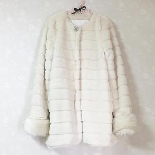リズリサ(LIZ LISA)の【 LIZ LISA / リズリサ 】ロング ファー コート(毛皮/ファーコート)