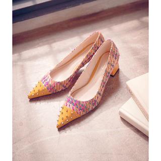 エイミーイストワール(eimy istoire)のeimy istoire💛ツイードローファー(ローファー/革靴)