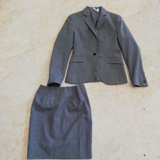 オリヒカ(ORIHICA)の美品オリヒカ美形ストライプスーツ、サイズ7号。ORIHICA (スーツ)