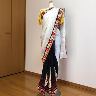 サリー インドサリー  民族衣装 刺繍 SAREE