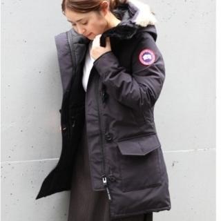 DEUXIEME CLASSE - 美品⭐BEAMS購入 canada goose カナダグース ブロンテ 紺 M