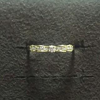 専用 k18 リボンダイヤリング(リング(指輪))