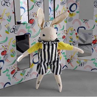 ボンポワン(Bonpoint)のPOLKA DOT CLUB Large Rabbits- SYD(ぬいぐるみ/人形)