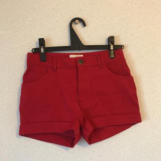 レピピアルマリオ(repipi armario)の赤 ショートパンツ(パンツ/スパッツ)
