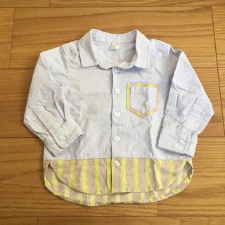 エフオーキッズ(F.O.KIDS)のアプレレクール 長袖シャツ 80(シャツ/カットソー)