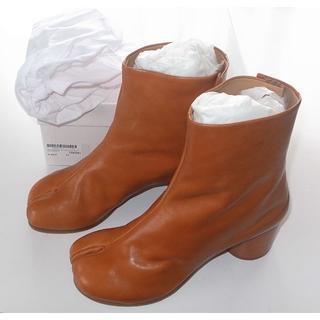 マルタンマルジェラ(Maison Martin Margiela)のマルジェラ brown 足袋ブーツ tabi size40 19SS(ブーツ)