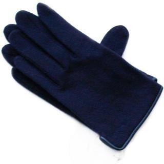 クロエ(Chloe)の新品 パイピング NV カシミヤ混 クロエ GANTS 手袋 レディース(手袋)