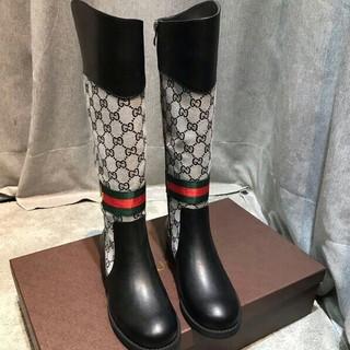 Gucci - GUCCI グッチ  ブーツ  22.5-25.5cm