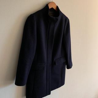 デミルクスビームス(Demi-Luxe BEAMS)のDemi-Luxe ロングコート 紺色(ロングコート)