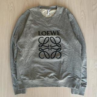 ロエベ(LOEWE)のLOEWE 刺繍 クルーネックスウェット XL(スウェット)