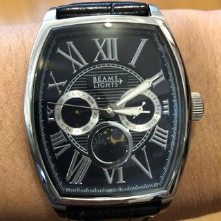 ビームス(BEAMS)のANA機内販売限定 BEAMS LIGHTSのサン&ムーン トノーウォッチ(腕時計(アナログ))