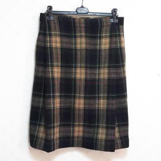 ヴィヴィアンウエストウッド(Vivienne Westwood)のヴィヴィアンウエストウッド ウールスカート(ひざ丈スカート)
